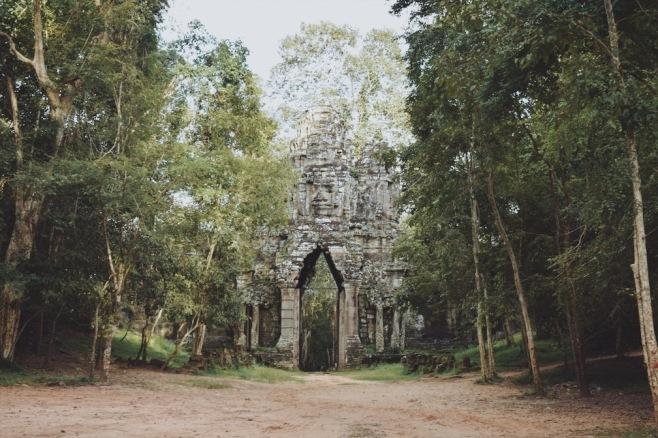 Puerta de los Muertos, Angkor Thom.